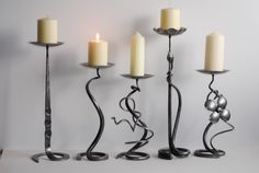Belltrees Forge - original candlesticks and table lamps forged in Scotland