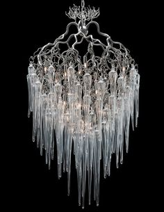 Brand Van Egmond's Hollywood Icicle Chandelier