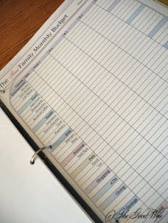 The Good Wife: Free printable budget