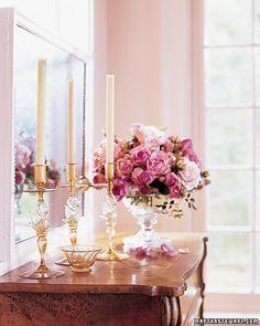 Arrange Fresh Blooms