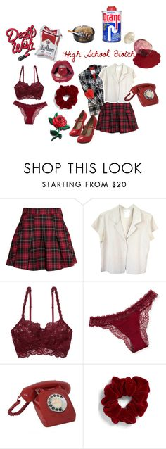 """""""Welcome to my candy store"""" by sound-of-your-heart ❤ liked on Polyvore featuring H&M, agnès b., Cosabella, La Perla, CO and L. Erickson"""