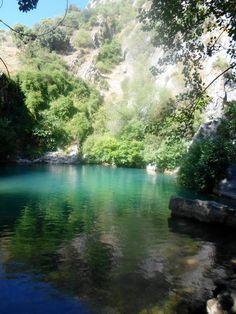 Cueva del Gato Ruta sendero camping Olvera
