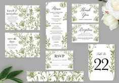 Wave Lines Wedding Invitation Set, Printable Invitation, Wedding Templates, Printed Invitations Wedding Invitation Sets, Wedding Sets, Christmas Card Template, Reception Card, Wedding Templates, Menu Cards, Printable Invitations, Save The Date Cards, Perfect Wedding