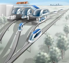 Magline Transit Would Create 45 Minute Commute From Calgary To Edmonton