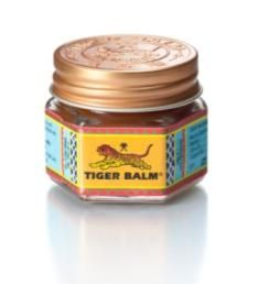 Tiger Balm Red... Awesome for those aches and pains when you push it! I apply to problem areas before I work out.
