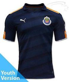 Puma chivas de guadalajara third youth jersey 2017 78f8f7f475