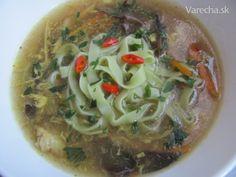 Čínska ostro-kyslá polievka po slovensky Tofu, Spaghetti, Ethnic Recipes, Noodle