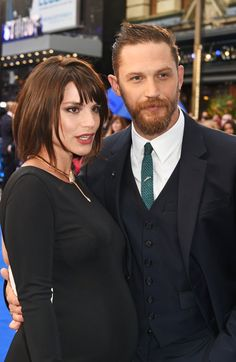 Pin for Later: Tom Hardy and Charlotte Riley Reveal Some Exciting News at His Premiere