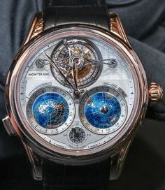 Unbelievable Montblanc watch! Almost hard to tell if it's real. Absolutely stunning!!