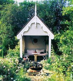 A little garden sanctuary.