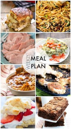 Easy Meal Plan #37 - This looks like such a delicious dinner plan!
