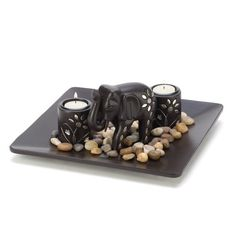 Gifts & Decor Tealight Candleholder Plate Light Set with Elephant Figure Gifts & Decor,http://www.amazon.com/dp/B006SQCZBM/ref=cm_sw_r_pi_dp_MTN.sb1BQTGVJF1X