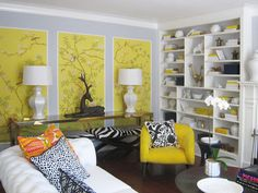 Decorating with Wallpaper - DIY Wallpaper Crafts - Good Housekeeping