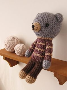 bear in sweater