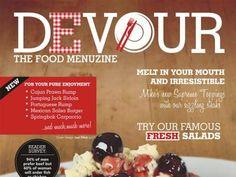 Devour - The Food Menuzine