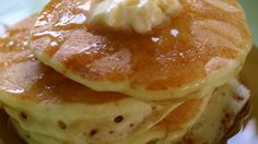 Fresh buttermilk is the secret ingredient for light and fluffy cakes in this buttermilk pancake recipe.