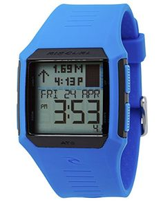 With 500 pre-programmed tide locations in graph or detailed display the Rifles Tide watch is the perfect combination of function and value. An alarm stopwatch countdown timer and light put all the ...