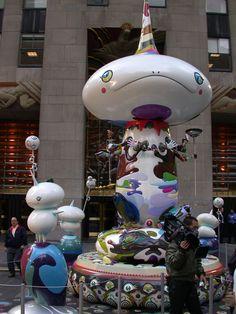 Takashi Murakami exibit NYC 2003