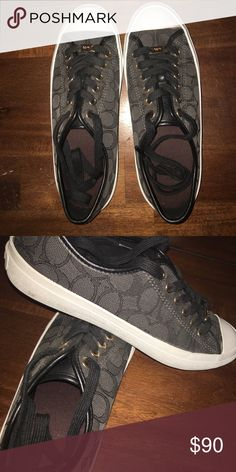 Size 7.5 Coach Shoes. Worn maybe 2 times. Only worn a few times. Fits true to size Coach Shoes Sneakers
