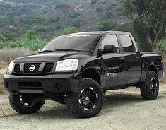 Nissan Titan Truck, 2005 Nissan Titan, Nissan 4x4, Nissan Trucks, Lifted Trucks, Pickup Trucks, Rims And Tires, Bugatti, Dream Cars