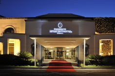 Fachada Hotel Presidente Intercontinental Puebla