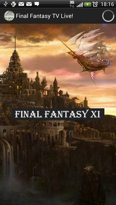 "Final Fantasy, The Game is brought to your phone Live through ZAPED TV!<p>Final Fantasy is part of a series of fantasy and science fantasy role-playing video games (RPGs) played globally and in dozens of languages. The game is so popular that ""none-player"