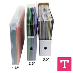 Paper Storage that's portable too! Great for Scapbooking supplies