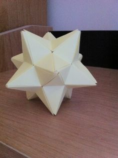 Origami Stellated Dodecahedron - origami Fan Art
