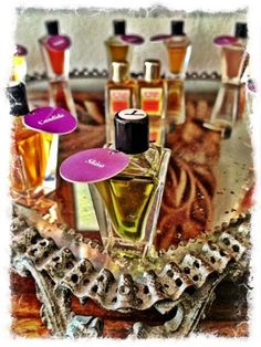 Perfume testers in the studio! Beautiful photo by Tim Girvin.