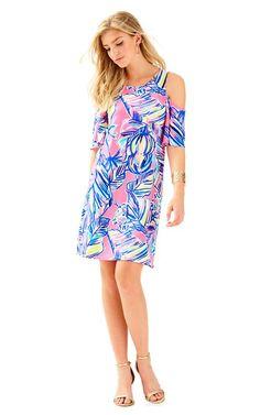 2dd0c690722219 Somerset Open Shoulder Swing Dress: NOW $69 Resort Wear For Women, Day  Dresses,