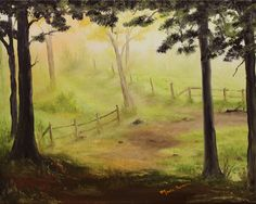 """Path""  Oil Painting by Marie Parsons; http://www.etsy.com/shop/MarieParsonsArt"