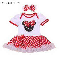 c58b49301fab Fantasia Minnie Polka Dots 1 Year Baby Girl Dress for Party Girls Dresses  Summer 2016 Vestido Infantil Menina Infant Clothing-in Dresses from Mother  & Kids ...