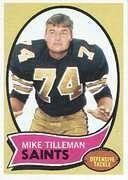 Mike Tillemen 1970 Topps Card