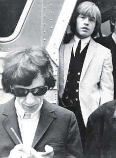 Bill Wyman and Brian Jones, The Rolling Stones.