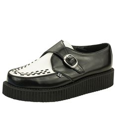 38006c77eba2b8 T.U.K. Original Footwear Viva Low Buckle Creeper