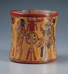 Mexico, Usumacinta River Valley, Maya cultureLate Classic period (A.D. 600–900)c. A.D. 750–850Polychromed ceramic