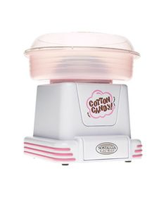Brother would love this. // Cotton-Candy Maker  Transforms any hard candy—butterscotches, root-beer balls, cherry Life Savers—into cotton candy.   To buy: Nostalgia Electronics cotton-candy maker, $50, bestbuy.com.    NEXT: For Mischief Makers