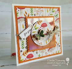 Sale-a-bration Painted Seasons featuring Pumpkin Pie for our Art with Heart Colour Creations blog hop. Week 41