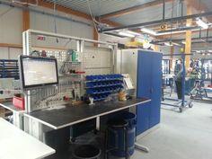 Sovella Nederland Treston | Sovella Nederland | ESD-veilige professionele werkomgeving en werkplaatsinrichting | Ook voor werktafels, inpaktafels, trolleys, wandrails, haken en (perfo)panelen