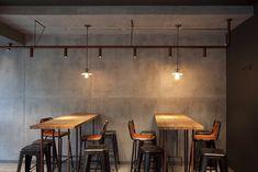 "Industrial Coffee Shop ""Sviezia Kava"" Interior - Picture gallery"