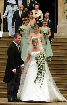 May 2008 Peter Phillips Marries Autumn Kelly At St George S Chapel In Windsor Is From Montreal Quebec