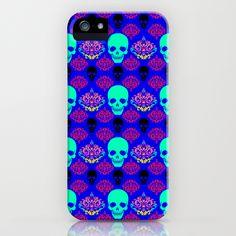 Skull pattern I iPhone Case