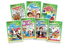 $35 for a Preschool 7-Pack DVD Set