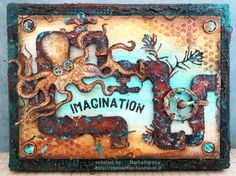 yaya scrap & more: Tim Holtz Sea Life Stamp set