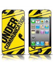 Folie GALBENA de protectie mobil