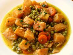 Σελινόριζα αλά πολίτα !!!Ένα φαγητό οικονομικό!! όλο γλύκα και αρώματα..!! Vegan Recipes, Meat, Chicken, Food, Vegane Rezepte, Essen, Meals, Yemek, Eten