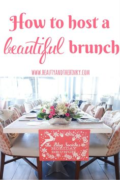 How to Host a Beautiful Brunch in Houston with @Minted & Arte and Design | brunch, Houston bloggers, hosting, event, Houston seafood restaurant, floral, tablescape