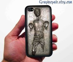 iphone 4 4s case Han Solo in Carbonite Star Wars....I WANT THIS