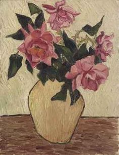 """""""Roses in a Jar"""" by Christopher Wood, 1925"""