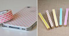 decoracion con cinta adhesiva - Buscar con Google